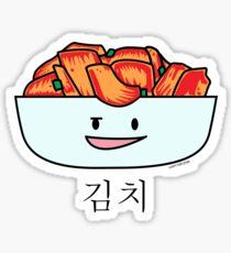 Happy Kimchi Kimchee Bowl Korean Cabbage pickled Sticker