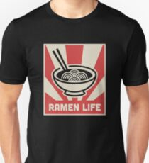 Retro Japanese Style RAMEN LIFE Poster Unisex T-Shirt
