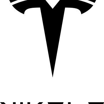 Nikola Tesla Logo by daleharvey