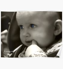 Baby's Got Blue Eyes Poster