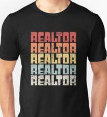 Retro 70s REALTOR Text Unisex T-Shirt