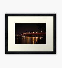 Tasman Bridge - Dark Mofo Framed Print