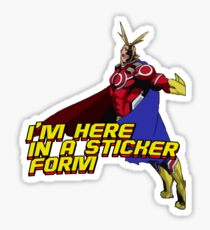 Sticker form Sticker