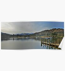 Late Afternoon On Windermere  Poster