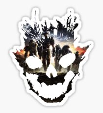 Halo Reach Emile Skull (Noble Team) Sticker