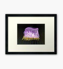 Pastry Brush Framed Print