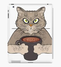 Cats Love Coffee Too iPad Case/Skin