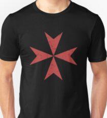 Crusader Maltese Cross | Renaissance Festival Design Unisex T-Shirt