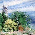 Door County Lighthouse by Carolyn Bishop