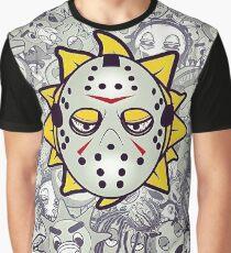 Glo Gang Jason Mask  Graphic T-Shirt