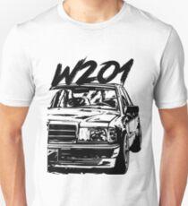 Mercedes W201 / 190e Unisex T-Shirt