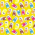 Big M Party - Mustard by makemerriness