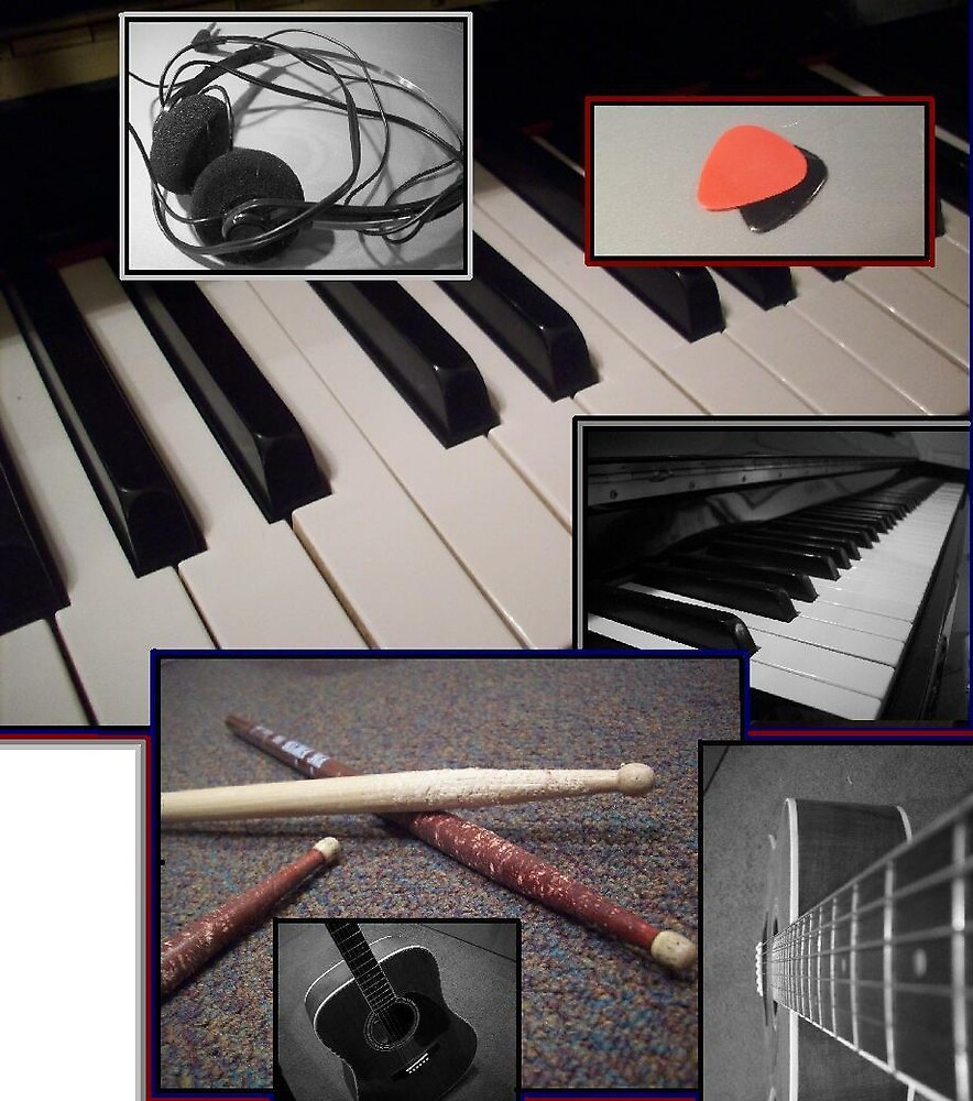Musical [Instruments] Collage by ripinamberlost