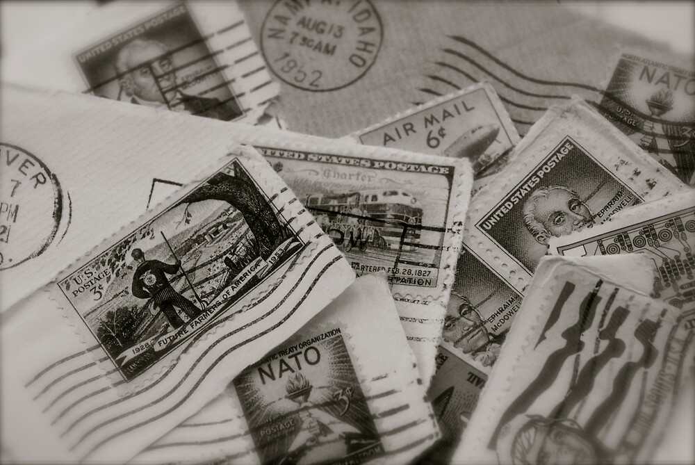 Stamps by Robert Baker