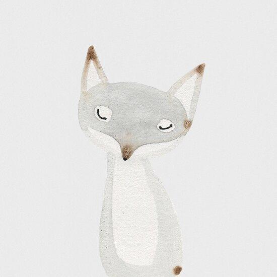 Dear Grey Fox by jjsgarden