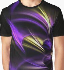 Fractal Flower Graphic T-Shirt