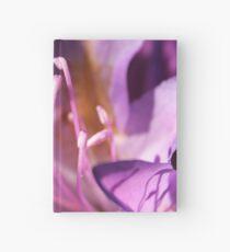 Lavender Rhododendron Flower Hardcover Journal