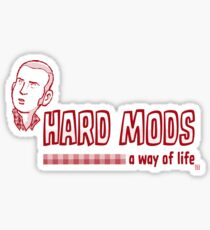 Hard Mods - Time Hard Sticker