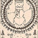 Snowman 5 - Circular by Alter of Vivari