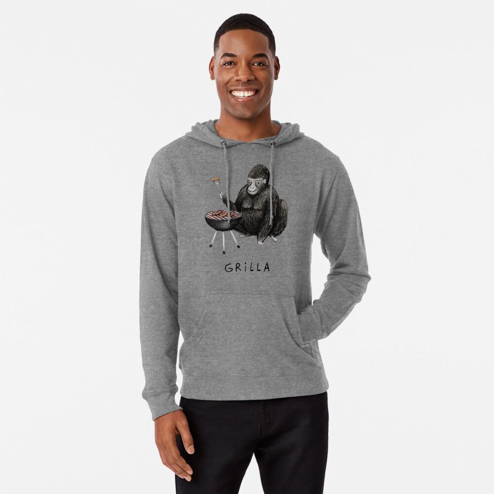 Grilla Sudadera ligera con capucha