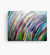 Fireworks in the Wind Canvas Print