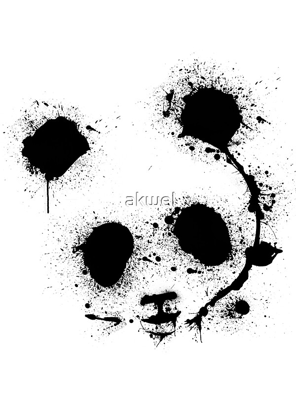 Quot Panda Quot Stickers By Akwel Redbubble