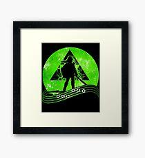 Legend Sword Master Framed Print