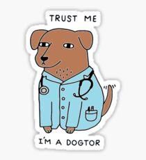 Dogtor Dog Sticker