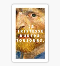 Vincent Van Gogh II Sticker