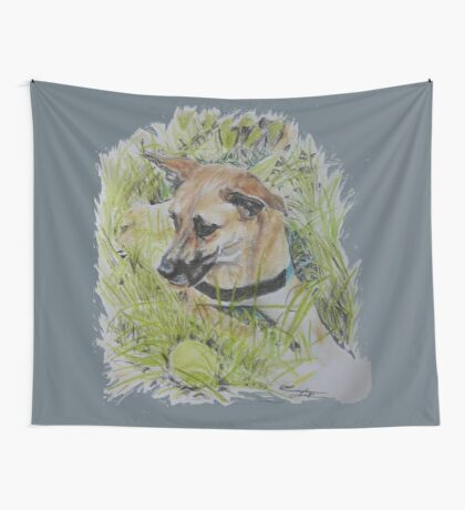 Dog ~ Hond Wall Tapestry