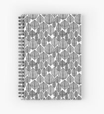 Leaves Pattern Spiral Notebook