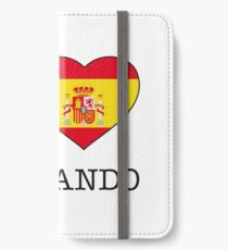I ♥ FERNANDO iPhone Wallet/Case/Skin