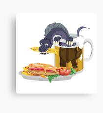 Dinovember 2017 : Rebbachisaurus Canvas Print