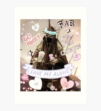 Witch King of Starbucks (Angmar) Pastel Ver. Art Print