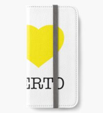 I ♥ ALBERTO iPhone Wallet/Case/Skin