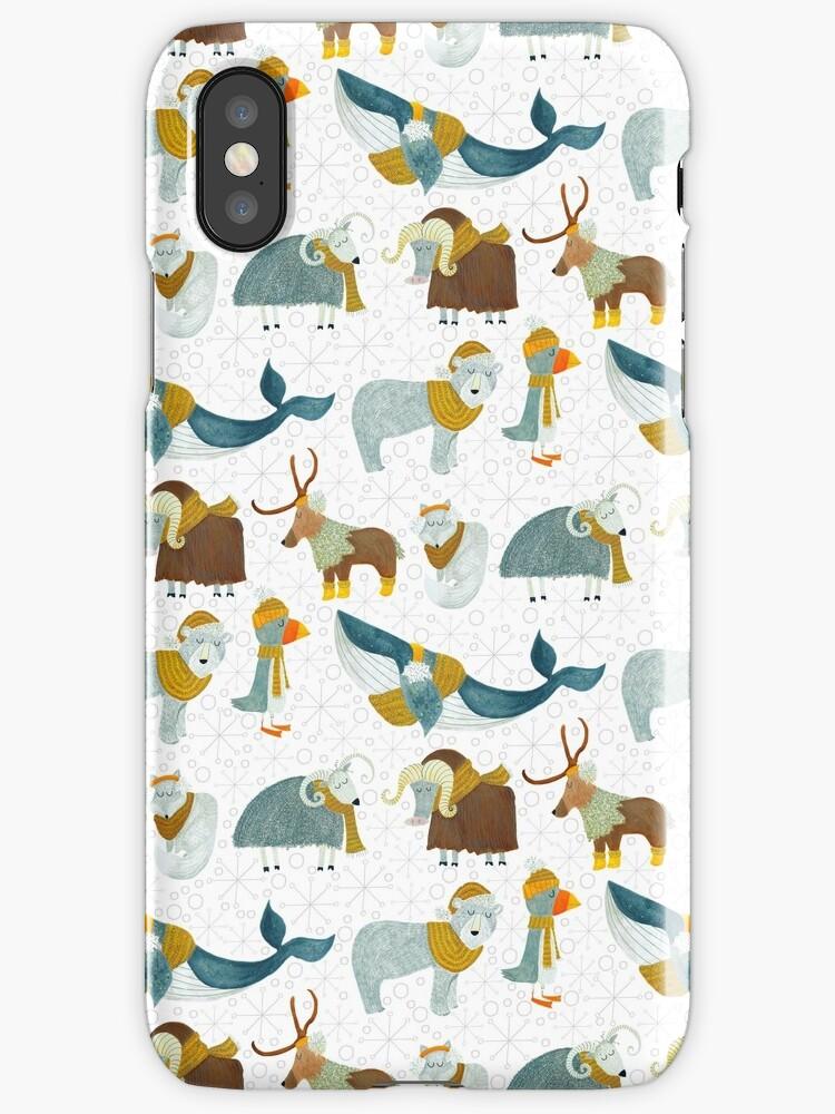 Pattern 72 - Arctic animals  by Irene Silvino