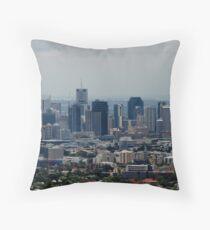 Brisbane City - Queensland, Australia Throw Pillow