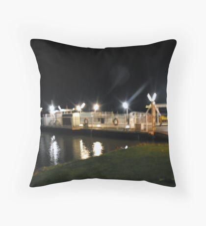 Mannum Ferry Throw Pillow