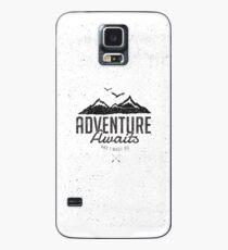 ADVENTURE AWAITS Case/Skin for Samsung Galaxy