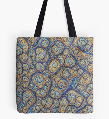 Stones #DeepDream Tote Bag
