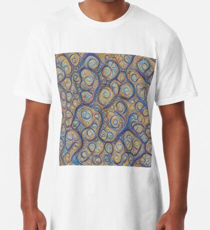 Stones #DeepDream Long T-Shirt