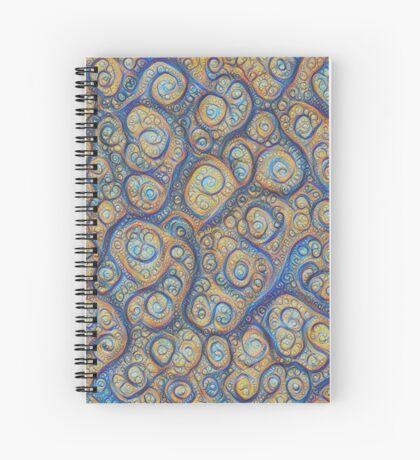 Stones #DeepDream Spiral Notebook