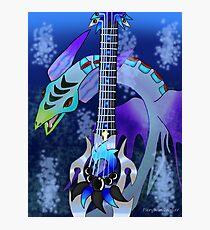 Keyblade Guitar #26 - Leviathan Photographic Print