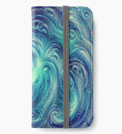 Cyclone #DeepDream iPhone Wallet