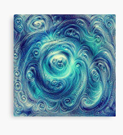 Cyclone #DeepDream Canvas Print