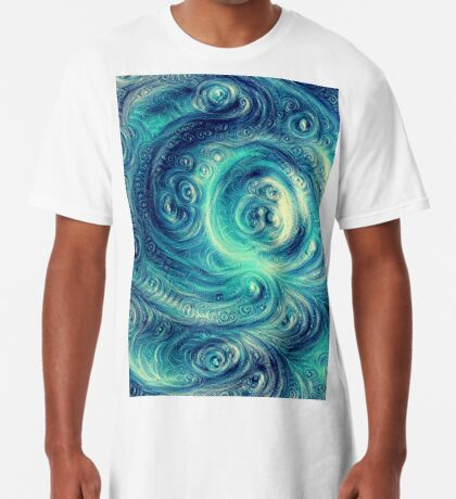 Cyclone #DeepDream Long T-Shirt