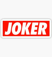 Joker - Shirt Sticker