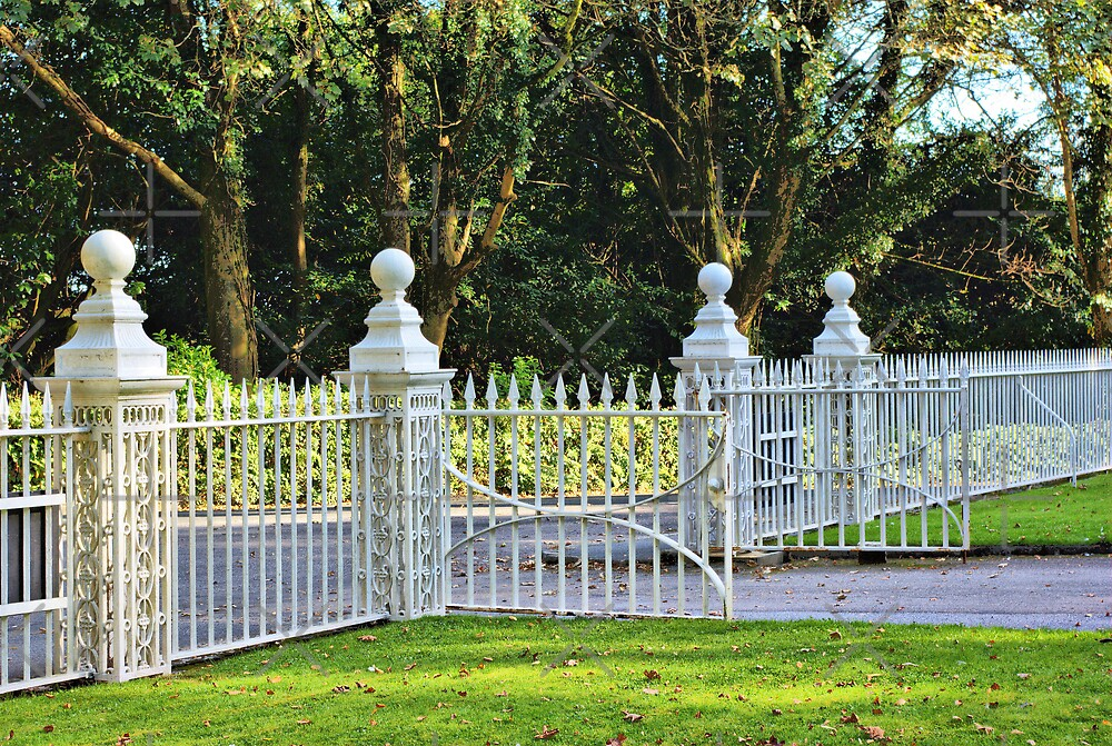 Gates at Tregwainton by Catherine Hamilton-Veal  ©