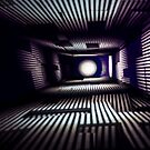 Abstract Light Painting in Purple and White by Pixie Copley LRPS