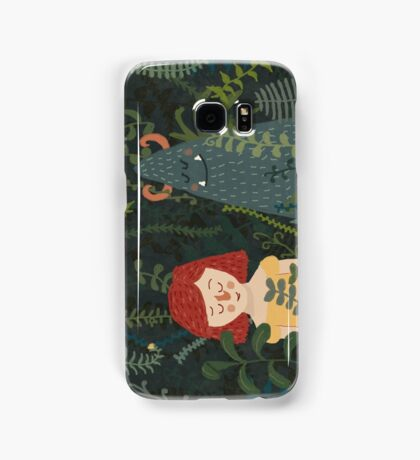 the jungle Samsung Galaxy Case/Skin